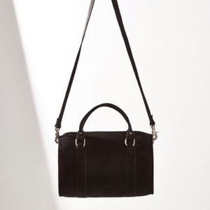 Urban Outfitters Aubrey Suede Duffle Bag